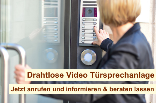 Drahtlose Video Türsprechanlage Berlin