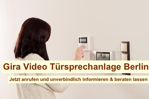 Gira Video Türsprechanlage Berlin