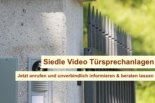 Siedle Video Türsprechanlage Berlin